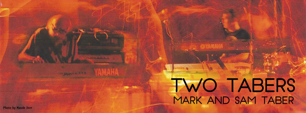 Two Tabers - Mark and Sam Taber - Boston, Providence, Rhode Island piano duo